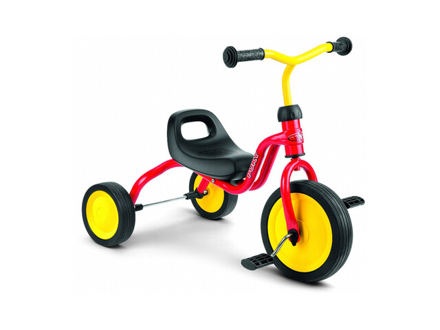 Puky Tricycle Fitsch - Tricycle Enfant - jaune/rouge